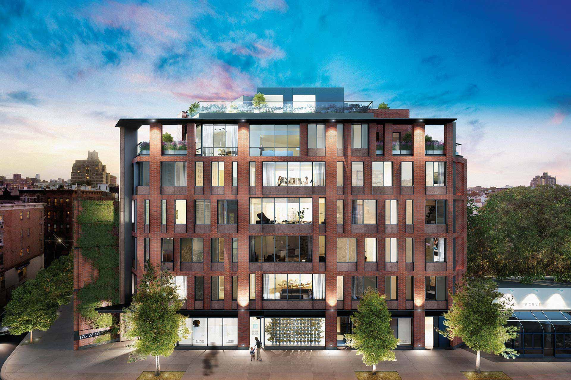 West Village hero exterior rendering